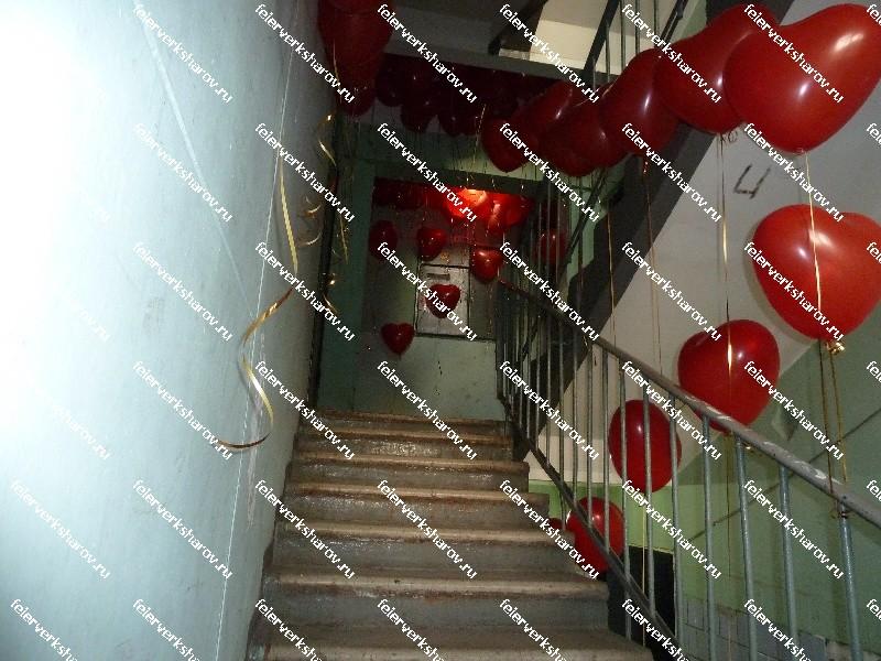 Фото украсить подъезд для выкупа своими руками 111