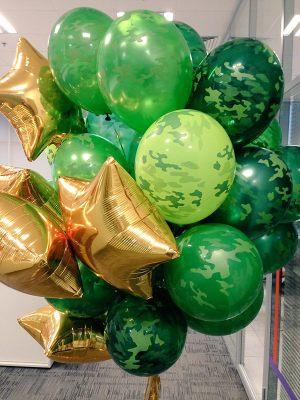 Гелиевые шары на 23 февраля