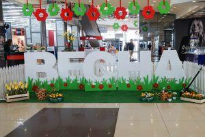 8 марта декор торгового центра