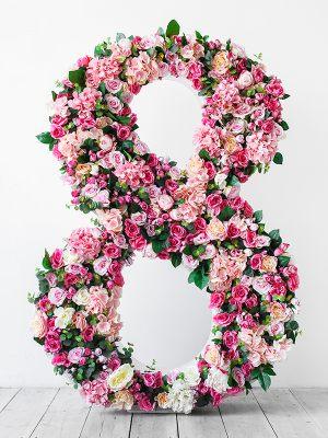 8 из цветов для фотосессии