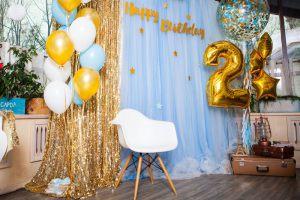 Фотозона на день рождения мальчика