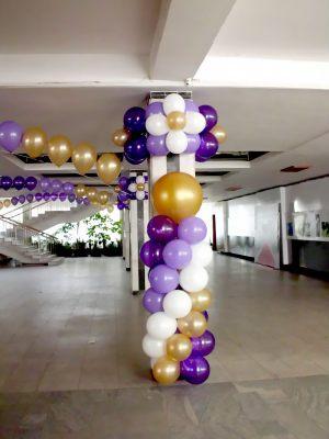 Декор школьного коридора