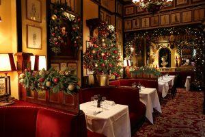 Новогоднее оформление ресторана