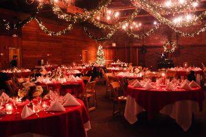 Новогоднее украшение зала