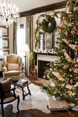 Декор дома к новому году