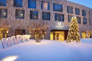 Новогодний отель