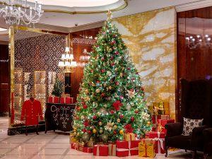 Декор отеля к новому году