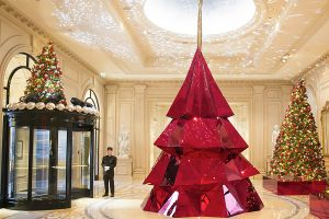 Декор гранд отеля к новому году
