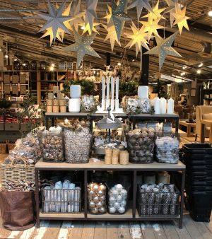 Новогоднее украшение супермаркета
