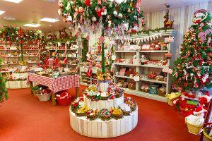Новогодний декор магазина