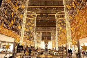 Оформление торгово-развлекательного центра к новому году