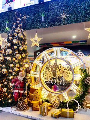 Новогоднее оформление торгового центра